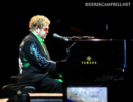 Elton John at Chichen Itza 2010