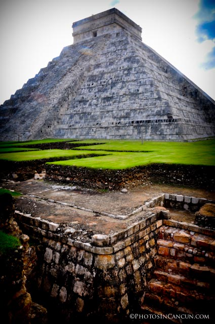 Mesoamerican cultures build on top