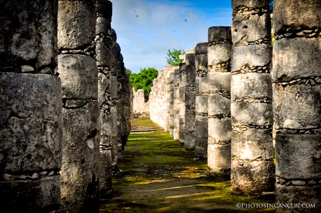 Chac Group of a Thousand Columns at Itza