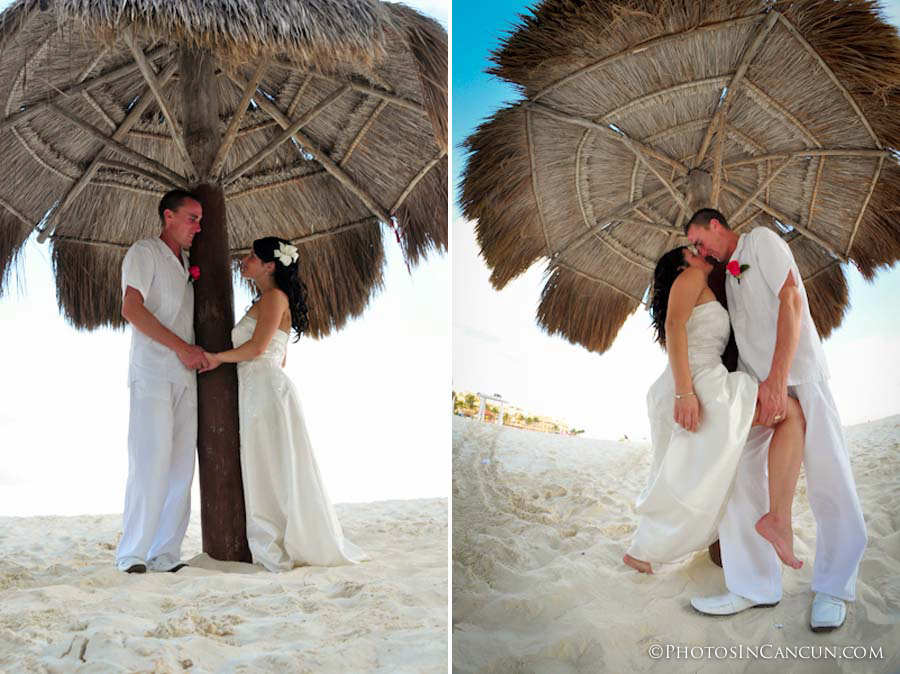Palapa Beach wedding photos