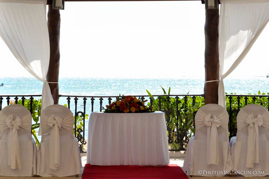 Grand Porto Real Playa Del Carmen wedding gazebo