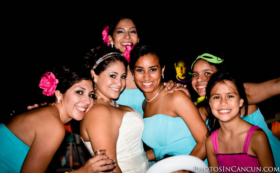 Gran Caribe Real Cancun Mexico Wedding Photos