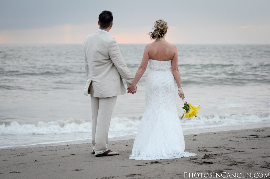Beach Wedding Photography at Villas Vallarta Hotel
