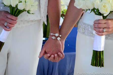 Photos In Cancun - Same Sex Commitment Ceremony in Mexico