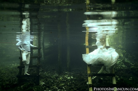 Photos In Cancun - Tulum Mexico Trash The Dress Underwater Cenote