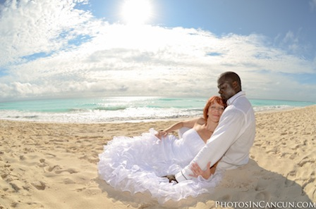 Cancun Wedding Photo Day After Session
